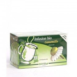 infusettes bio camomille sachet 20