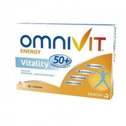 Omnivit vitality 50 + 28 comprimés