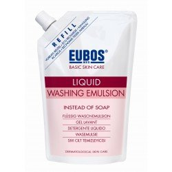 Eubos savon liquide rose n/parf refill 400ml
