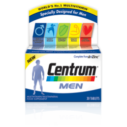Centrum men advanced 30 comprimés