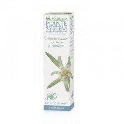 Plante System crème hydratante edelweiss peaux sèche 40ml