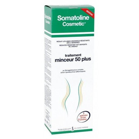 Somatoline Cosmetic Traitement minceur 50+ 150ml