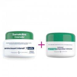 Somatoline Cosmetic Amincissant intensif 7 nuits 400ml + Cadeau Gommage préparateur minceur 300gr