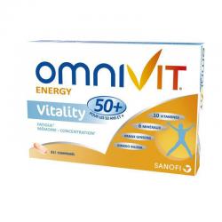 Omnivit vitality 50 ans + 84 comprimés