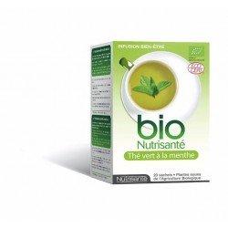 Nutrisante Infusion bio thé vert-menthe 20 sachets
