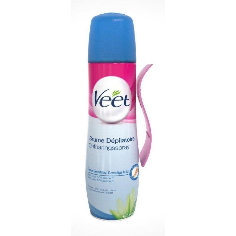 Veet brume depilatoire 150ml pharmasimple - Veet creme depilatoire sous la douche ...