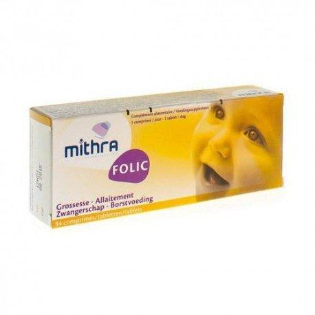 Mithra folic comprimés 400y 84 comprimés