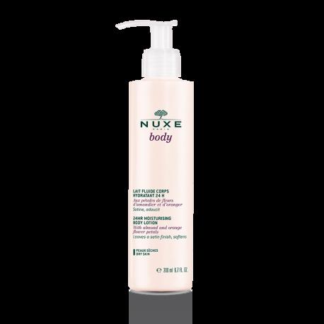 Nuxe Body Lait Fluide Corps Hydratant 24h 200ml