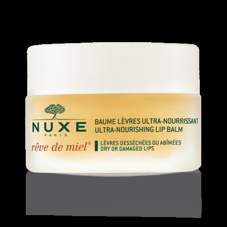 Nuxe Rêve De Miel Baume Lèvres Ultra-Nourrissant Naturel Pot 15 gr