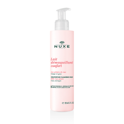 Nuxe Lait Demaquillant Confort aux Petales de Rose 200ml