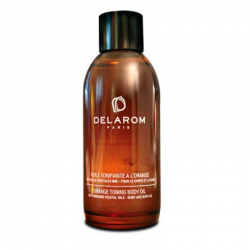 Delarom Huile tonifiante orange 100ml