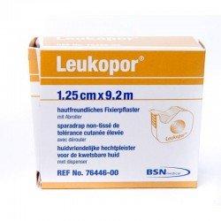 Leukopor (non tissé) derouleur 9,2 mx1,25cm 76446