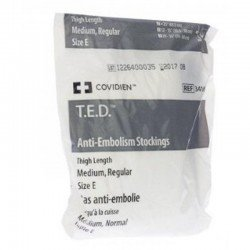 T.e.d. -kendall bas anti-embolie cuisse 34160 m regular blanc
