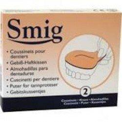 Smig 2 coussinets pour prothèse dentaire emplatre 2