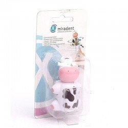 Miradent funny animals vache socle brosse