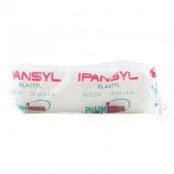 Ipansyl elastyl gaze elastique 10cm x 4m