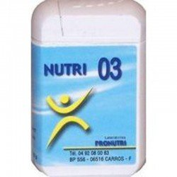 Pronutri-floriphar Nutri 03 cheveux 60 comprimés