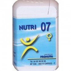 Nutri 07 corps vaginal comp 60