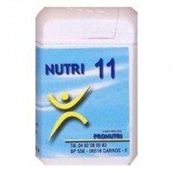 Pronutri-floriphar Nutri 11 foie 60 comprimés