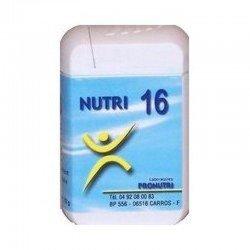 Pronutri-Floriphar Nutri 16 muscle 60 comprimés