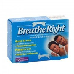 Breathe Right Clear regular 30 bandelettes