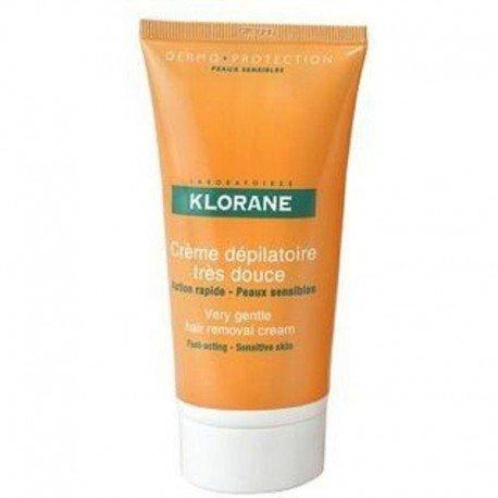 Klorane Depilatoires Crème dermo-protection 150ml