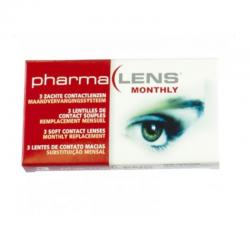 Pharmalens lentilles de contact souple parametre 5 3 dioptrie -1.75