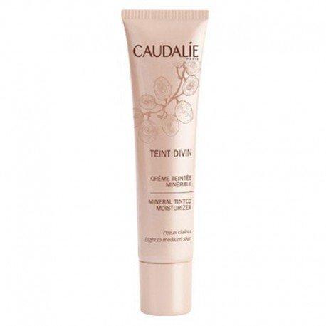 Caudalie Teint divin crème teintée minérale peaux claires tube 30ml