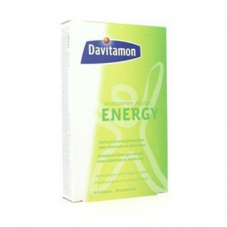 Omega pharma davitamon Multi energie tabletten 30 volwassenen