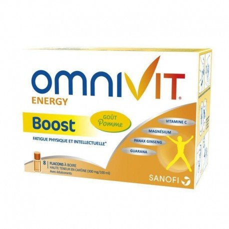 Omnivit boost 10ml 8 flacon