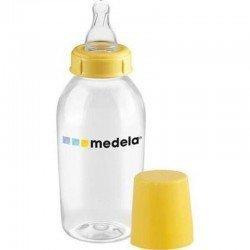 Medela bouteille lait matern 250ml + tetdebit moyen