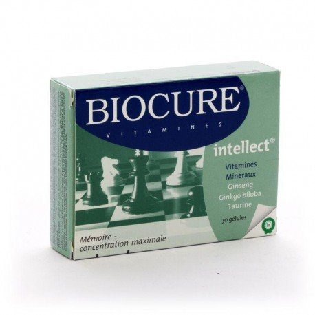 Biocure intellect 30 capsules