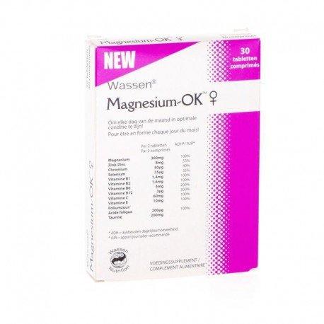 MAGNESIUM-OK VROUWEN TABLETTEN 30