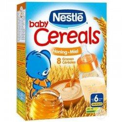 Baby cereals 8 céréales miel 250g