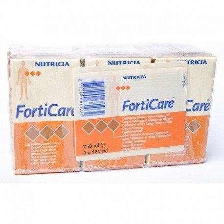 Nutricia Forticare cappuccino 6x125ml