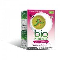 Nutrisante Infusion bio brule graisses 20 sachets