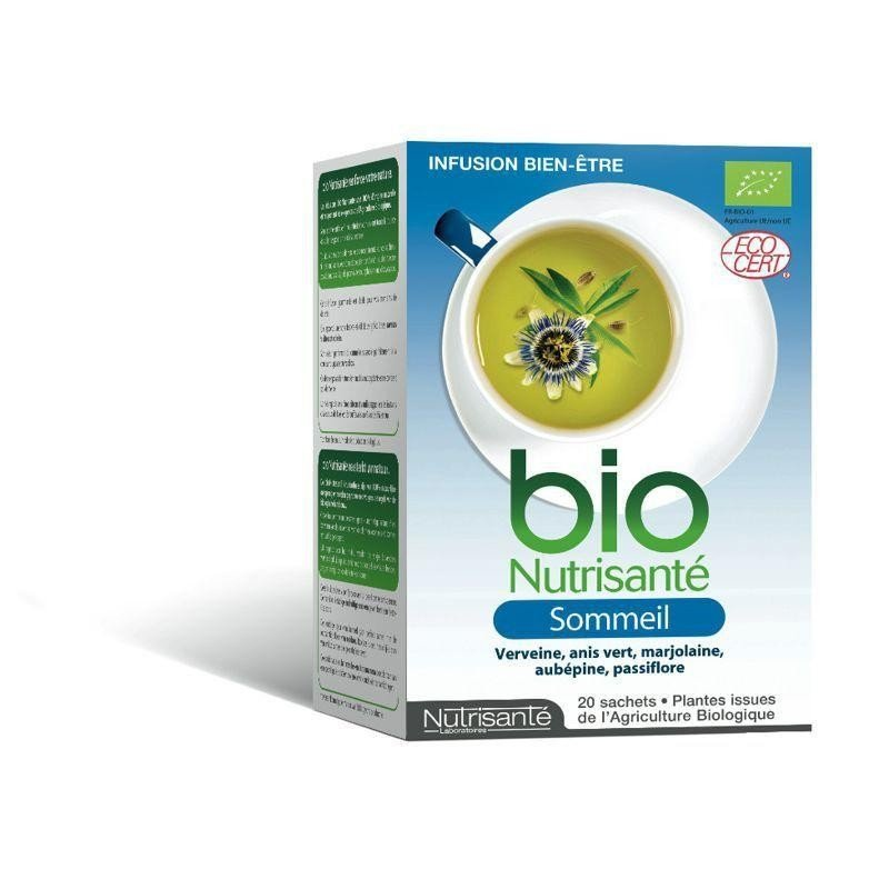 Nutrisante Infusion bio sommeil 20 sachets - Pharmasimple