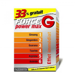Force G Power Max Pack Promo 3 x 10 ampoules