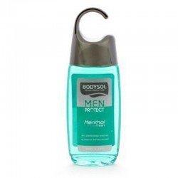 Bodysol men: protect gel douche menthol fresh 250ml