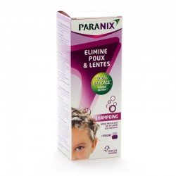 Paranix shampooing anti-poux + peigne 200ml
