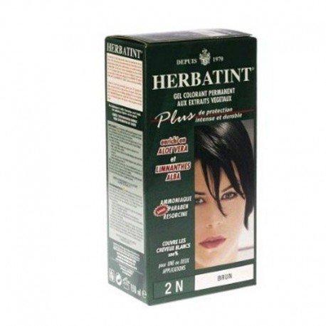 Herbatint: diverses couleurs (noir, marron...) brun 120ml
