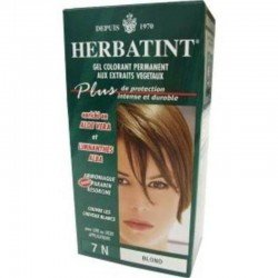 Herbatint: diverses couleurs (noir, marron...) blond 120ml