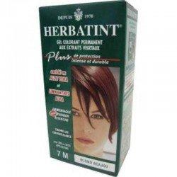 Herbatint: diverses couleurs (noir, marron...) blond acajou 120ml