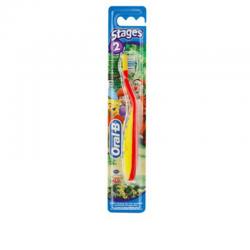 Oral-b Stages 2 brosse à dents 2-4 ans