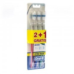 Oral-B Brosses à dents 123 indicator 35m 2+1