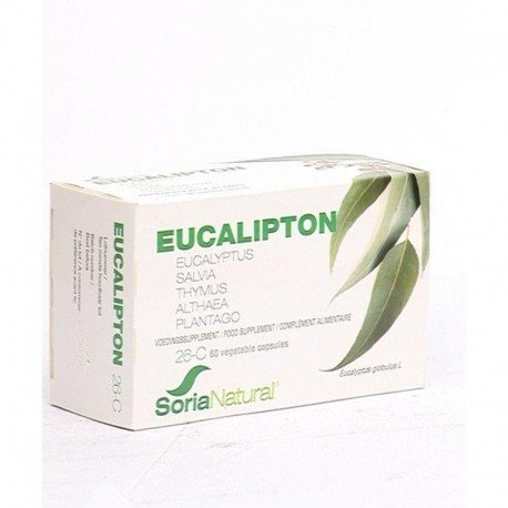 Soria 26-c eucalipton 60 capsules*10026