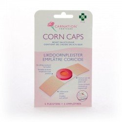 Carnation anticors corn caps 5 emplâtres coricides
