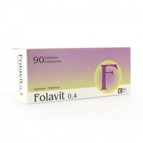 Kela folavit 0,4 mg x 90 comprimés