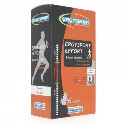 Nutergia Ergysport effort orange étui 6 sticks