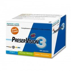 Bausch & Lomb preservision 3 capsules 180